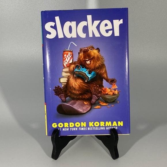 Slacker- Gordon korman- hardcover book